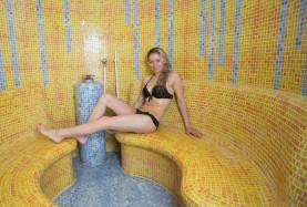 Relaks w saunie hotelu nam morzem w Mielnie