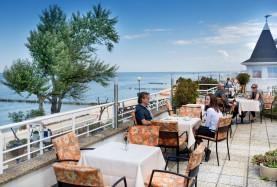 Meduza nad morzem restauracja taras widokowy
